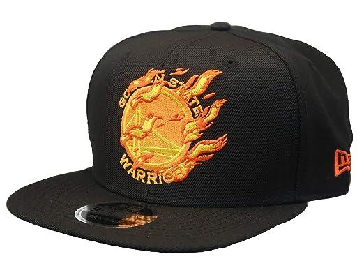 6fa0f7026 Amazon.com: NBA Golden State Warriors Burning Logo High Crown 9FIFTY ...