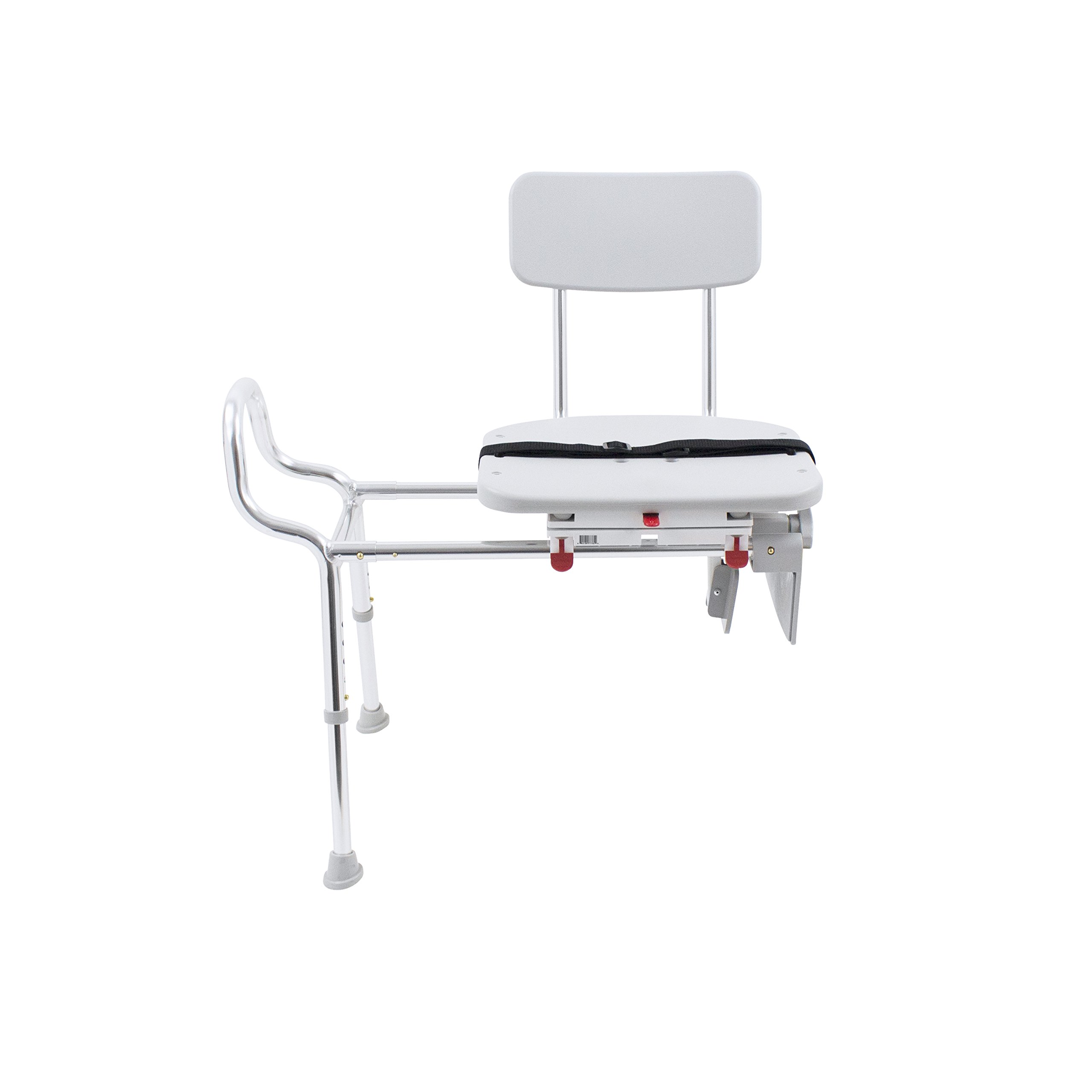 Eagle Health Supplies Tub-Mount Swivel Sliding Shower Transfer Bench, No Tool Assembly by Eagle Health Supplies (Image #3)