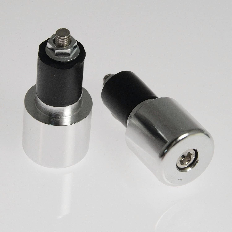 A-pro universale cromata manubrio 17/mm contrappesi manopola da moto