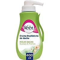 Veet Crema Depilatoria - con Dosificador, Piel Normal