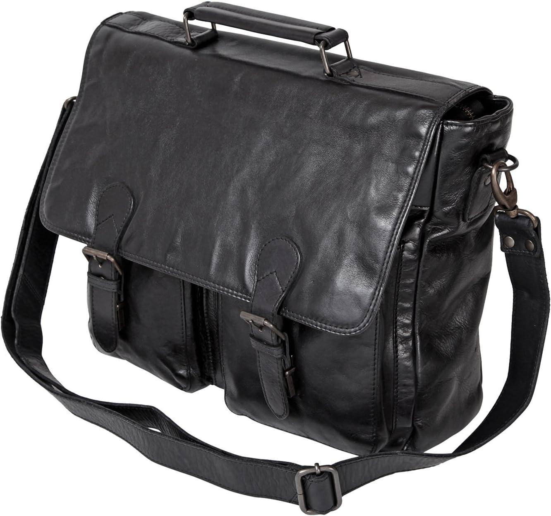 34//34//10 UNISEX cuir lav/é CL32842 Bear Design Sac daffaires // Mallette pour ordinateur portable //College Porte-documents XXL