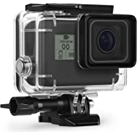 Kupton Housing Case for GoPro Hero 7 Hero 6 Hero 5 Black/ Hero 2018 Waterproof Case Diving Protective Housing Shell 45m with Bracket Accessories for Go Pro Hero 2018 Hero7 Hero6 Hero5 Action Camera