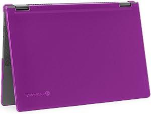 """mCover Hard Shell Case for 2020 Lenovo Chromebook Flex 5 (13"""") 2 in 1 Laptop ( NOT Fitting Lenovo 300E Windows & N21 / N22 / N23 / 300E / 500E / Flex 11 Chromebook ) LEN-CB-FLEX5-13 (Purple)"""