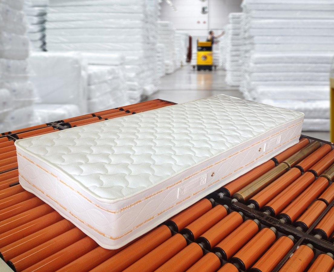 Materasso Singolo Memory Foam Altezza 25Cm misura 80X190 Sfoderabile ...