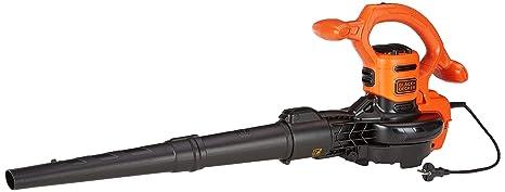 BLACK+DECKER BEBLV260-QS - Soplador, aspirador y triturador de hojas 2.600W, velocidad de soplado de 315 km/h