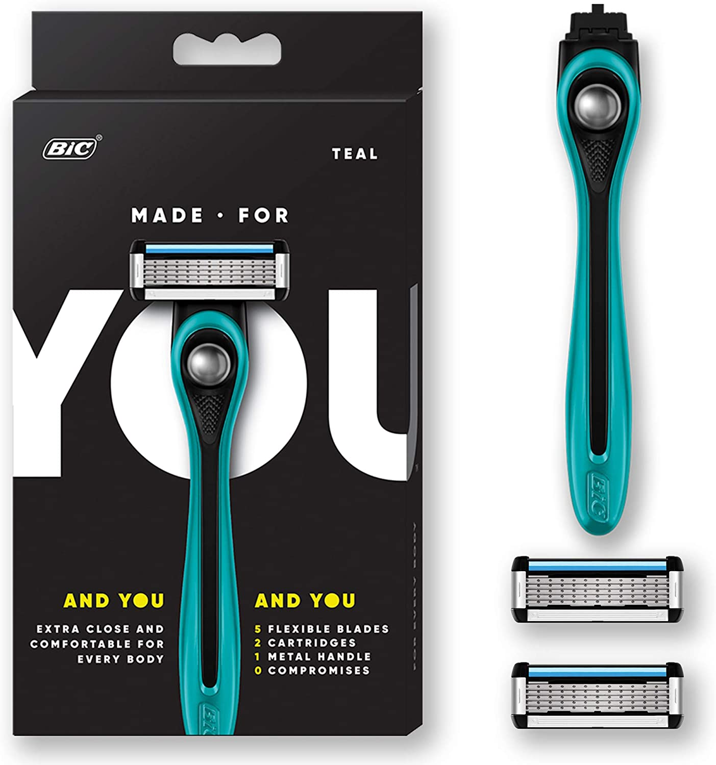Made For You SYUK2TQE-BLK Made For You by BIC - Cuchillas de ...