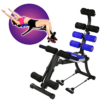 a8d4702c6 Amazon.com : SYOSIN (22-1 Foldable Ab Exercise Machine Gym Trainer Whole  Body Exercise Equipment : Sports & Outdoors