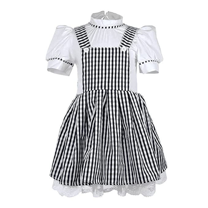 Amazon.com Summer Dress Girls Gingham Vintage Plaid Strappy