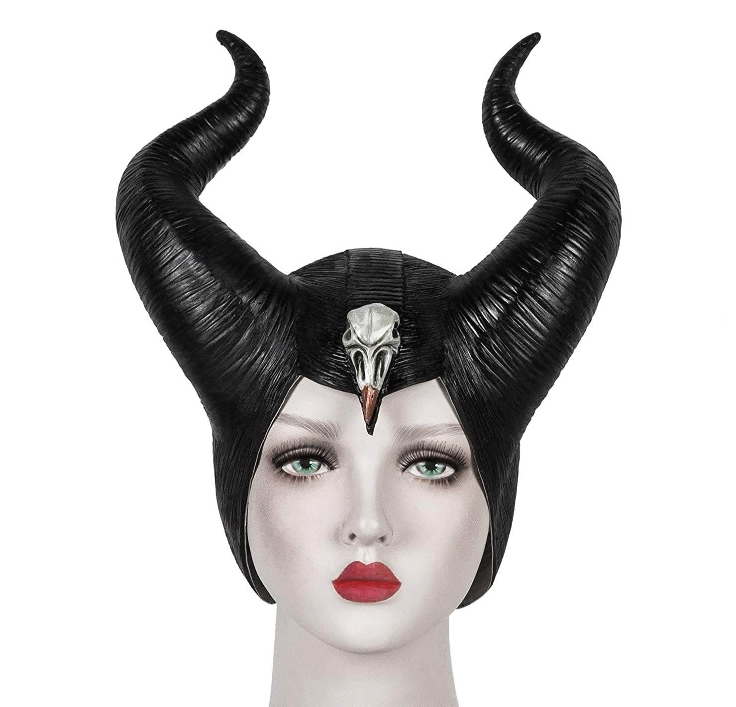 Amazon Com Maleficent Mask Mistress Of Evil Headpiece
