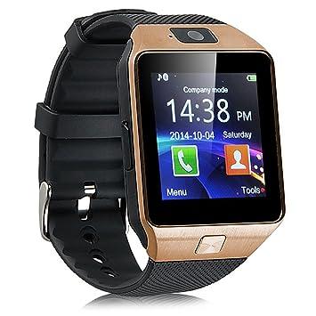 """Kivors DZ09Montre connectée 1,56"""" Bluetooth pour Android Samsung Galaxy"""