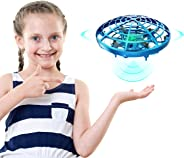 DEERC Drone for Kids Toys Hand Operated Mini Drone - Flying Ball Toy Gifts for Boys and Girls Motion Sensor Helicopter Outdoo