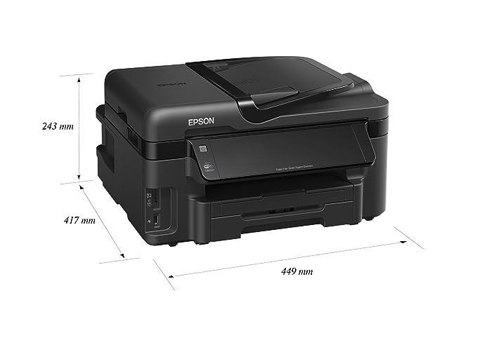 Epson Workforce WF 3520 DWF - Impresora multifunción de Tinta ...