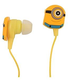 Myent in Ear Wired Minions Earphones (Multicolour)