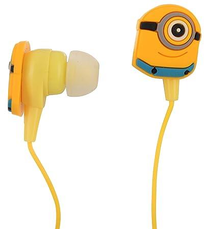 Myent in Ear Wired Minions Earphones  Multicolour  In Ear Headphones