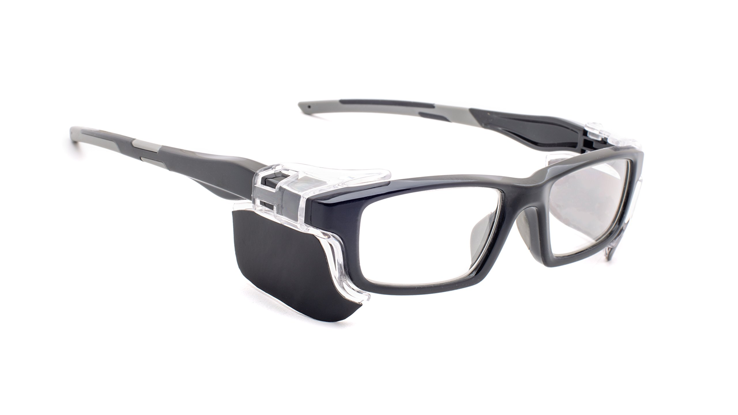 Leaded Glasses Radiation Protective Eyewear RG-17012-BK by Phillips Safety Products, Inc.