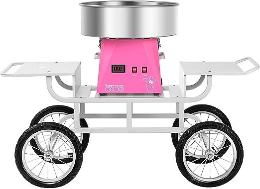 Royal Catering RCZK-SET5 Máquina de Algodón de Azúcar Algodonera ...