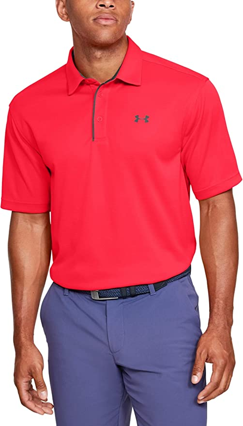 Under Armour Men's Tech Golf Polo   Amazon