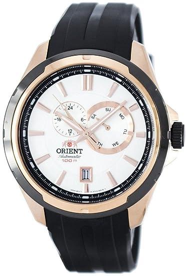 Reloj Orient Automático Caballero FET0V002W0 Deportivo: Amazon.es: Relojes