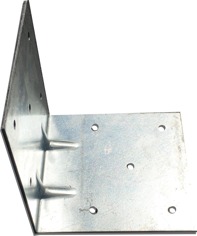 10 pcs Elbow Angle Connector Corner Bracket 60 x 60 x 60 mm