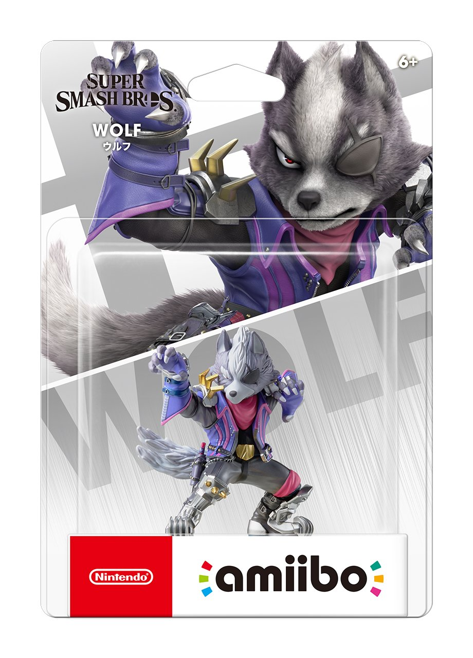 Nintendo amiibo Wolf (Super Smash Bros. Smash Brothers Series)(japan import) by Nintendo (Image #2)