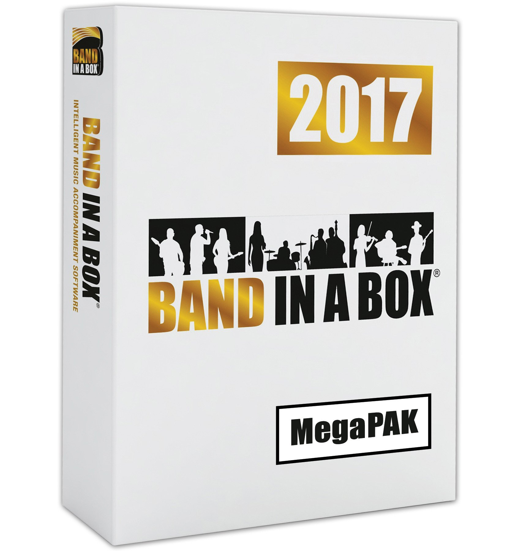 Band-in-a-Box 2017 MegaPAK [Old Version, Mac DVD-ROM]