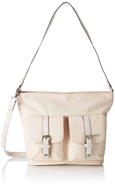 Tamaris Alessia Hobo Bag S Borse a spalla Donna, Beige
