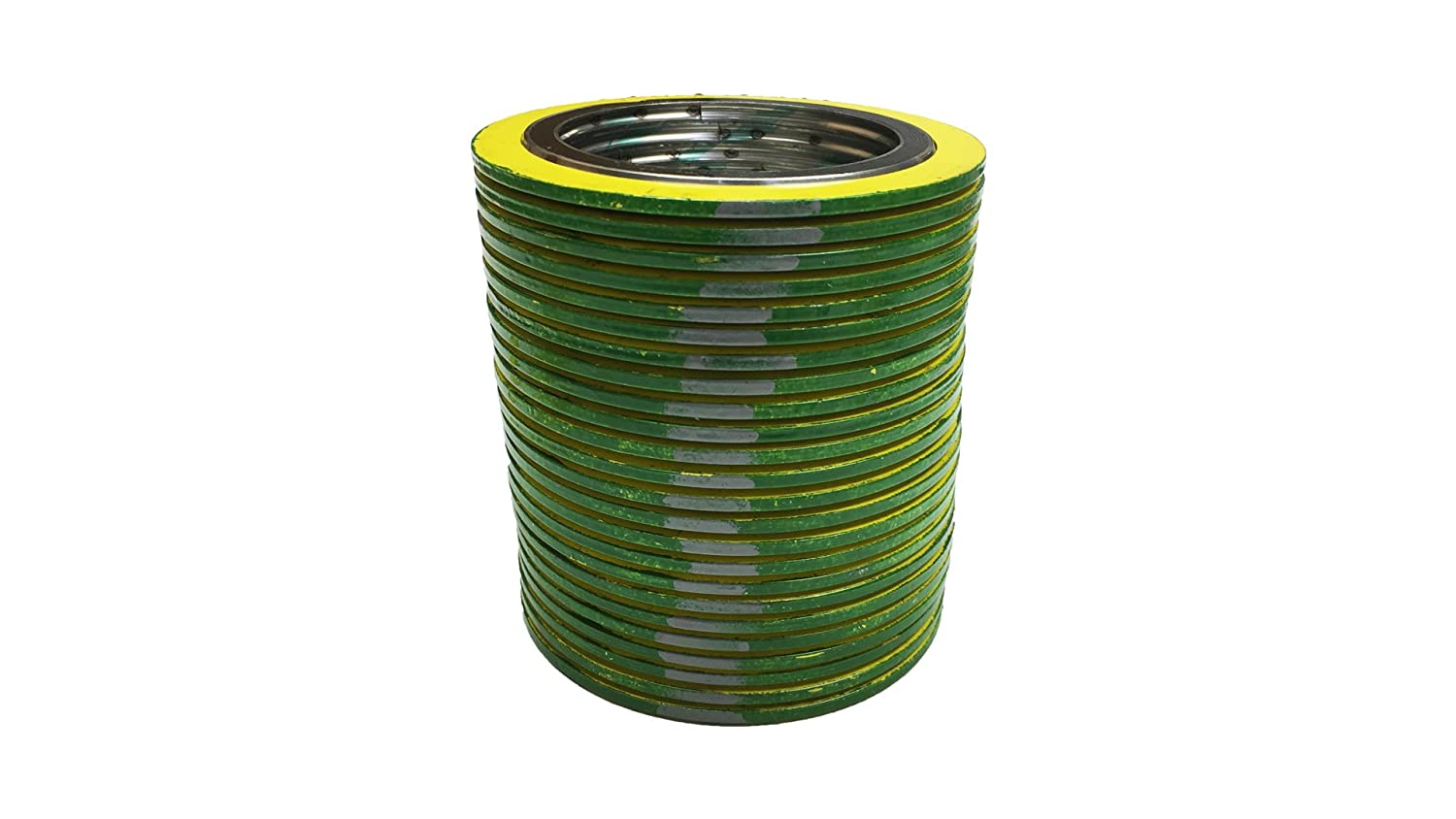 Pressure Class 600# QTY: 24 for 2 Pipe Supplied by Sur-Seal Inc of NJ green Band with Grey Stripes Pack of 24 Sterling Seal 90002316GR600X24 316L Stainless Steel spiral Wound Gasket with Flexible Graphite Filler for 2 Pipe
