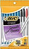 Bic Cristal Ball Pens Stick, Assorted Medium Point, 10-Pack