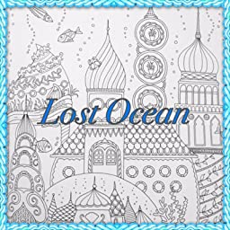 Lost Ocean An Inky Adventure Amp Colouring Book Amazonco