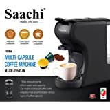 Saachi Coffee POD/Capsule Coffee Machine (BLACK)