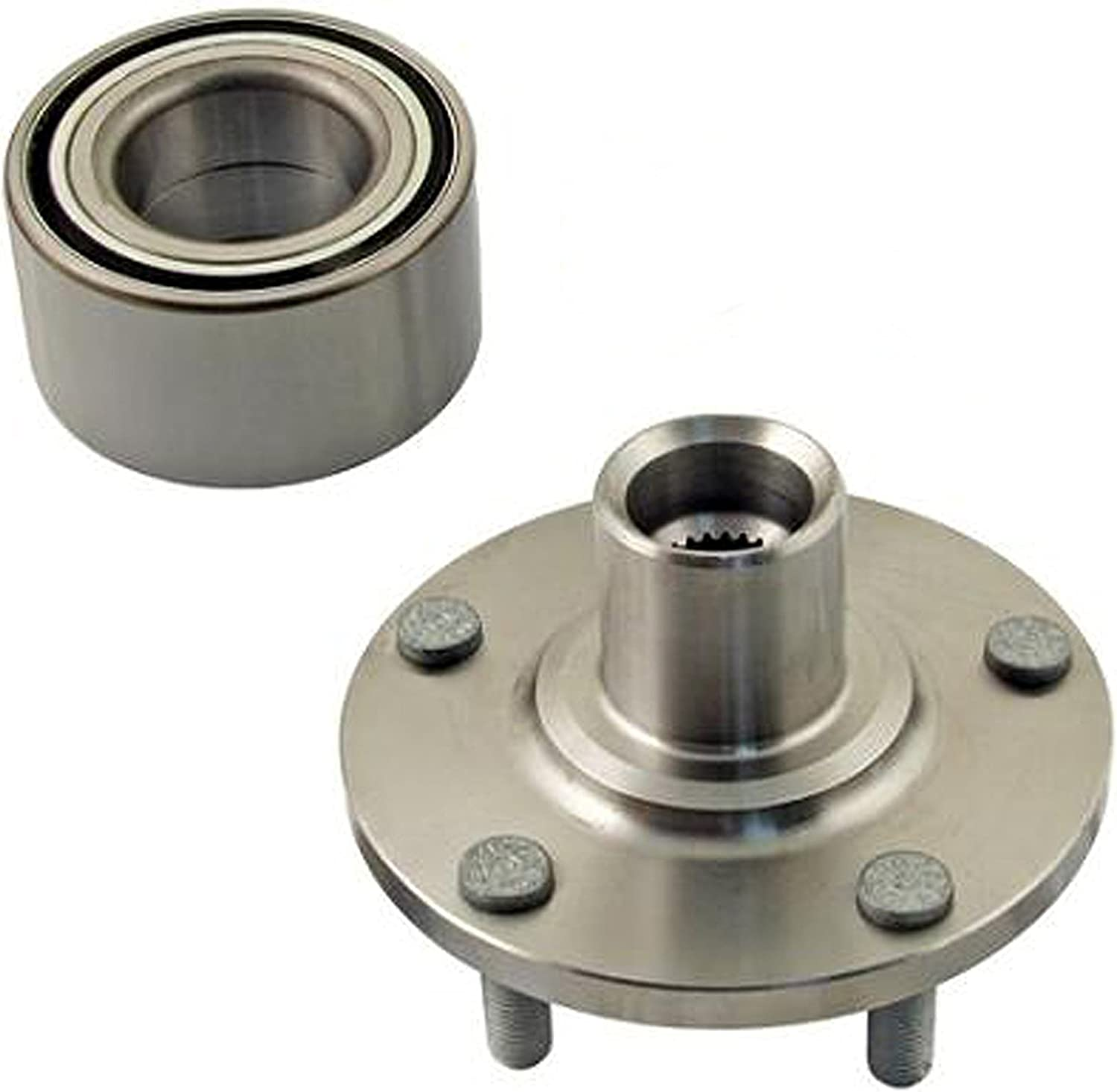 Accord Crosstour Front Wheel Hub Wheel Bearing Kit Left or Right Fits Acura TSX Honda Accord Crosstour D930006+NT510095