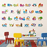 Wallstick 'Creative Alphabets' Wall Sticker (Vinyl, 49 cm x 4 cm x 4 cm)