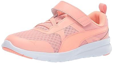 7985cfd530 PUMA Unisex-Kids' Flex Essential Velcro Sneaker