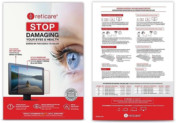 Reticare 352M-9601-B - Protector de Ojos Compatible con iMac de 27 ...