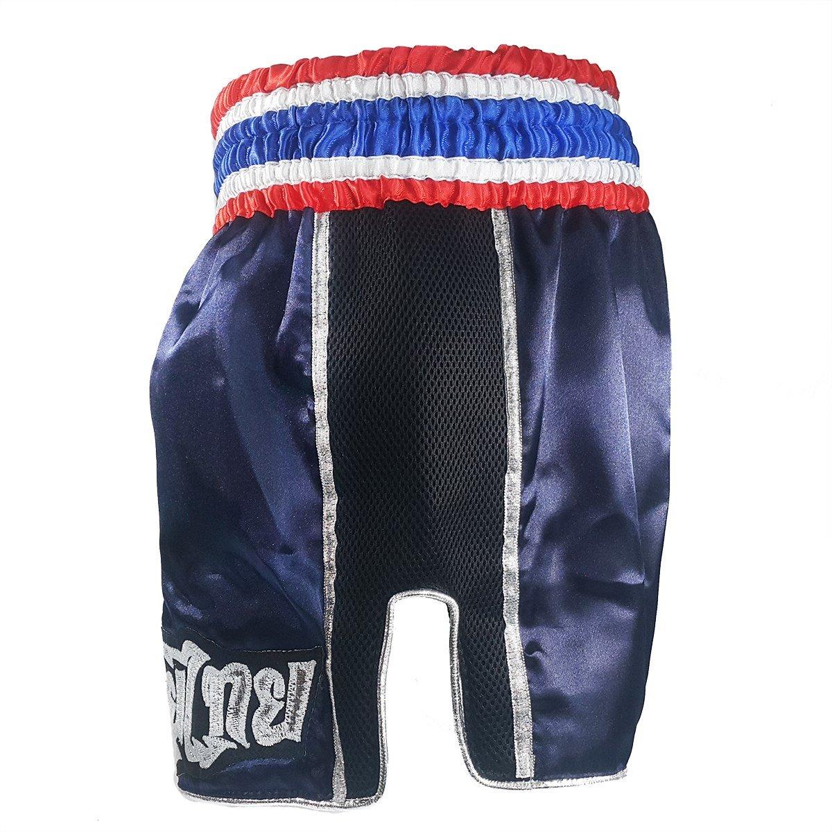 Boxsense Retro Muay thai Boxing Shorts BXSRTO-001-Navy size M