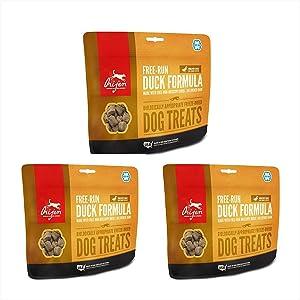 Orijen Duck Freeze Dried Dog Treats 1.5 oz. ea. (3 Pack)