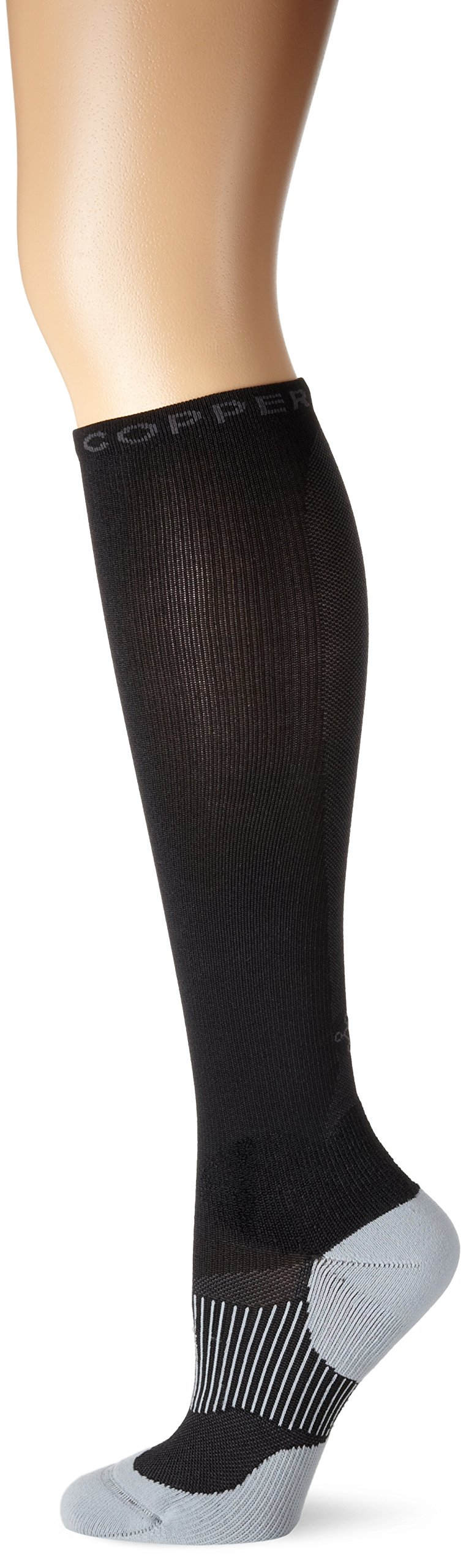 Tommie Copper Women's Performance Compression Over The Calf Socks, Black, 7-9.5 by Tommie Copper