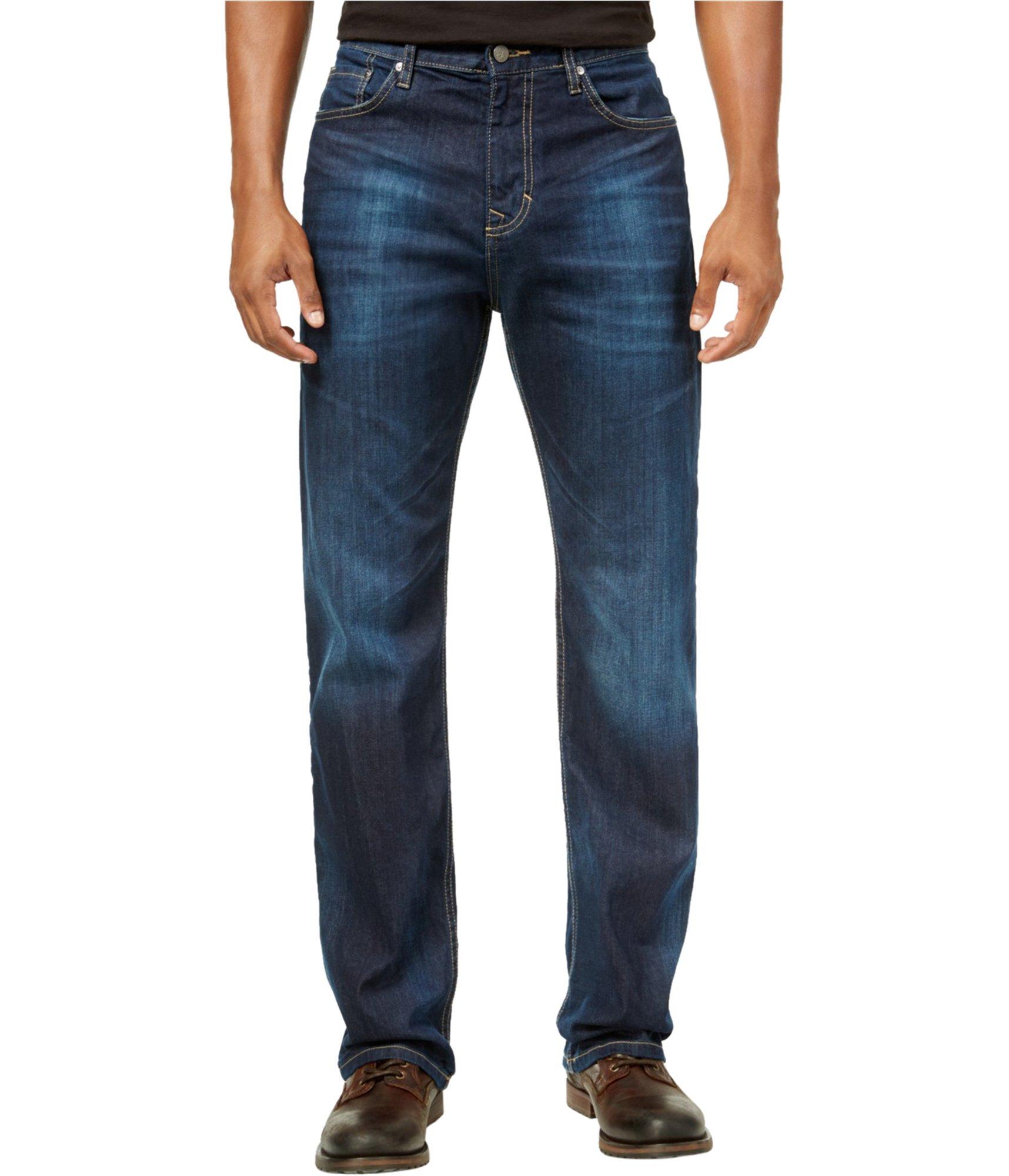 Calvin Klein Jeans Men's Relaxed Fit Denim, Deep Water, 30x30 by Calvin Klein Jeans