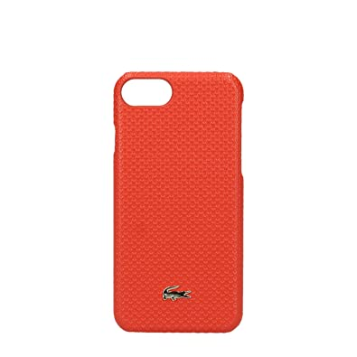 coque iphone 8 plus lacoste rouge