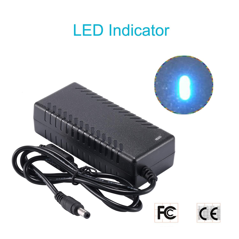 COLM Alimentation 12V 4A LED Driver AC 100-240V /à DC 12V Transformateurs de Commutation Adaptateur Chargeur pour LED Bande /éclairage 48 Watt Max