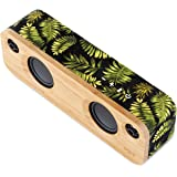 House of Marley Get Together Mini – Portable Bluetooth Speaker, 2.5'' Sub Woofers & 1'' Tweeters, 10hr Battery Life, Aux-In, Easy Charge USB, Mic Speakerphone for iPhone, iPad, Samsung + More - Palm