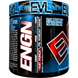 Evlution Nutrition ENGN Pre-workout, 30 Servings, Intense Pre-Workout Powder for Increased Energy, Power, and Focus (Fruit Punch) Pikatropin-Free