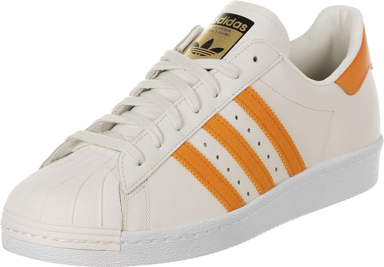 Adidas Superstar 80s Schuhe 12 5 off Weiß eqt Orange