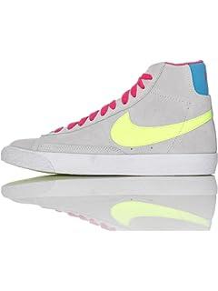 ffedf8ad4397d Nike Sneakers Colore Grigio-Blu Modello Blazer Mid Vintage 549548 ...