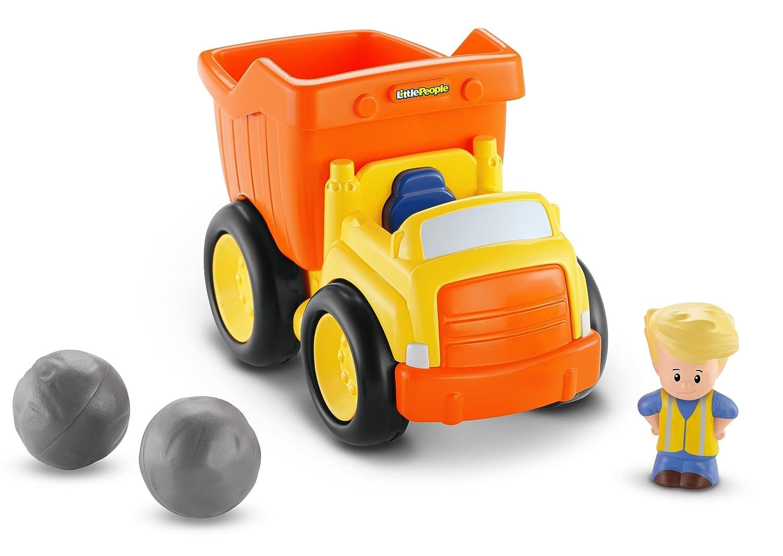 amazon com fisher price little people dump truck toys u0026 games