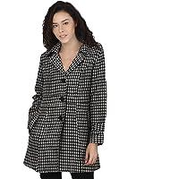 PepTrends Self Design Woollen Coat