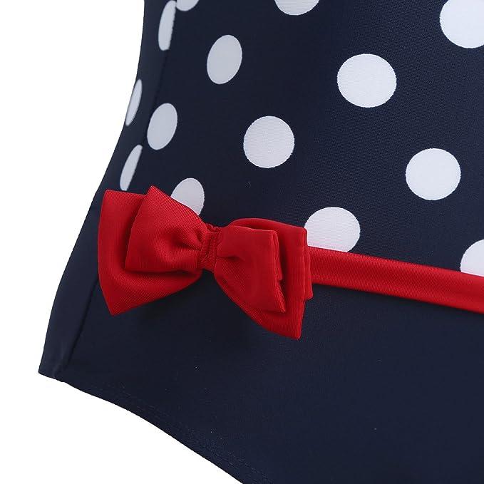 CHICTRY Little Girls Princess Bow One Shoulder Swimwear Swim Bathing Suit Beachwear