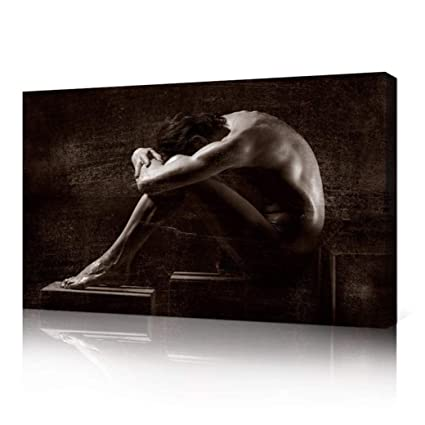 c89e9f91216 Amazon.com  VVOVV Wall Decor Naked Male Art Nude Sexy Man Poster Gay ...