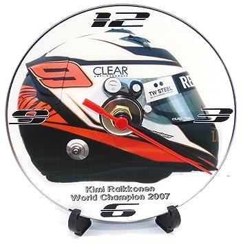 KIMI RAIKKONEN RACE casco * Un CD/DVD (12 cm de diámetro) de