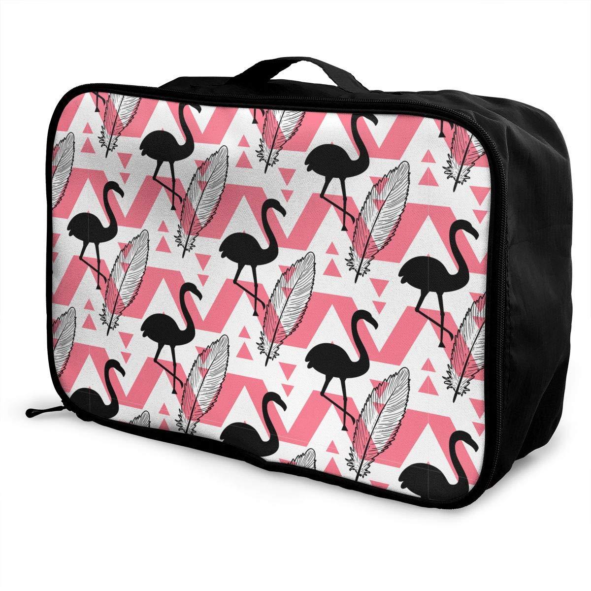 Rhinestone Pineapple Pink Flamingo Travel Bag Best Luggage Bags Duffle Bag Large Capacity Travel Organizer Bag